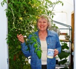 Linda Woolsey Urban Gardener and Tower Garden Farmer