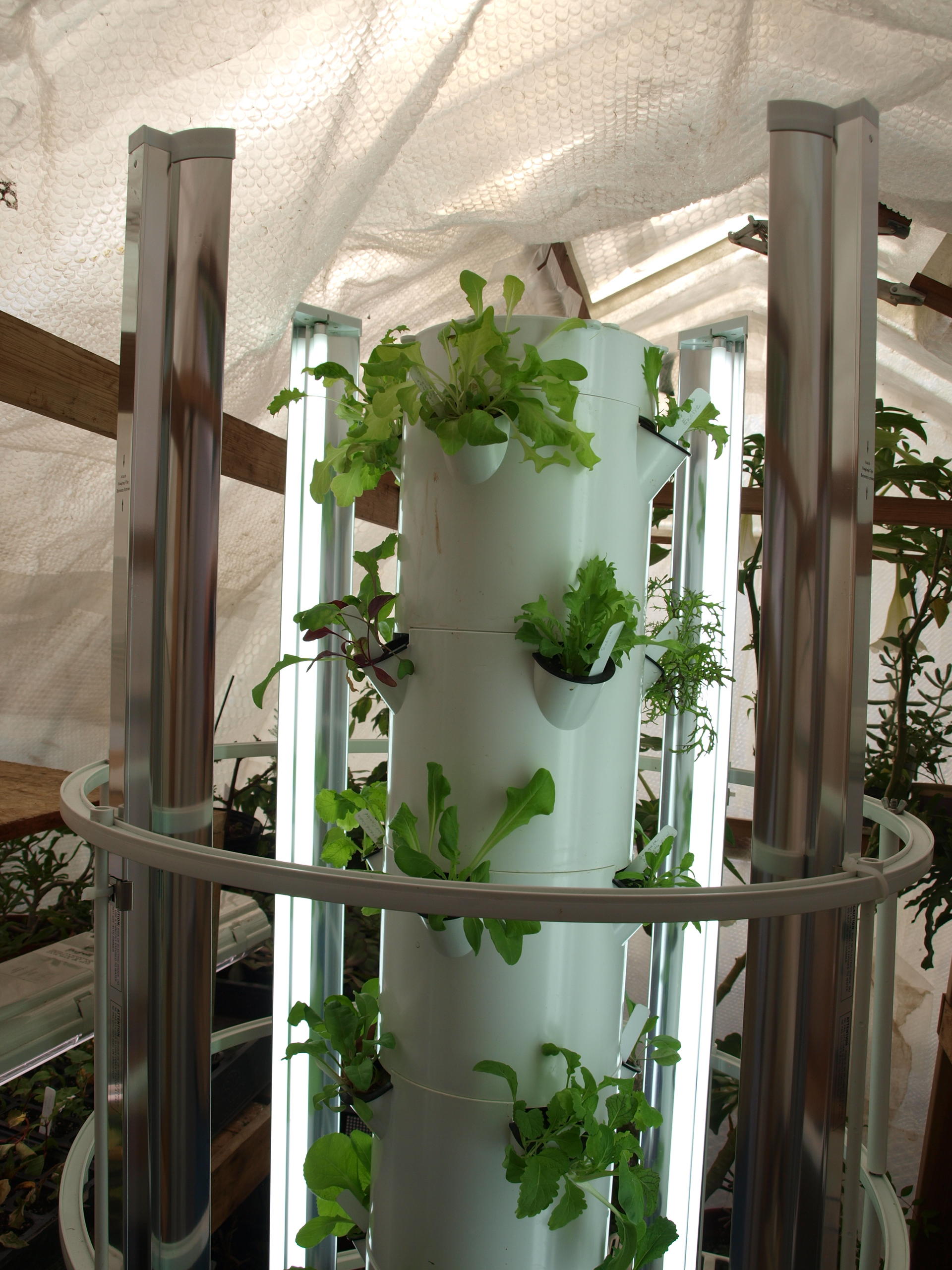 Nell Work Vertical Grow Towers Aquaponics