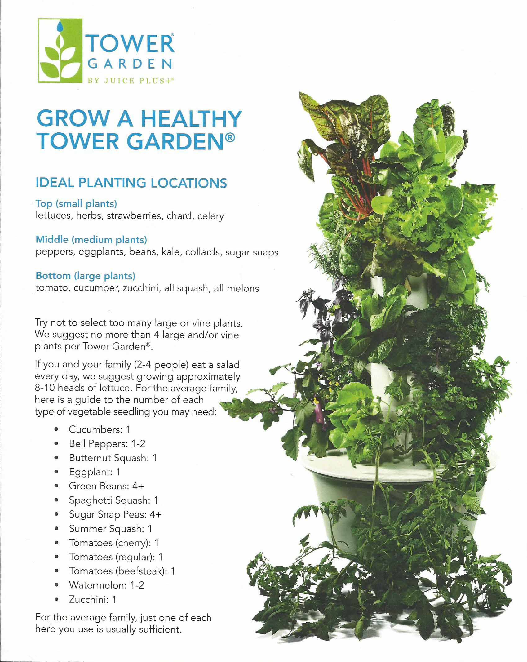 how to grow at healthy tower garden vertical urban gardening - Tower Garden