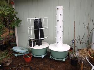 Tower Garden Vertical Urban Gardening