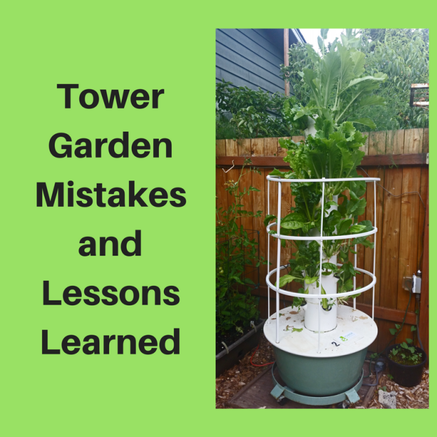 Tower Garden Mistakes and Lessons Learned