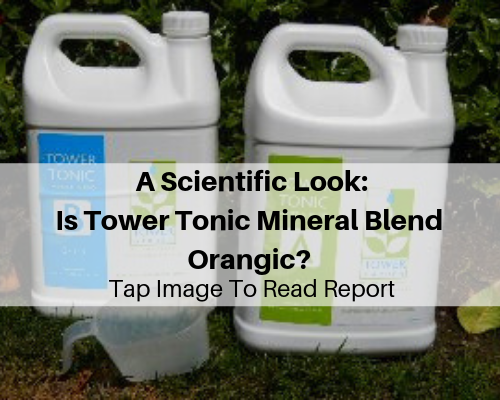A Scientific Look Is Tower Tonic Mineral Blend Orangic