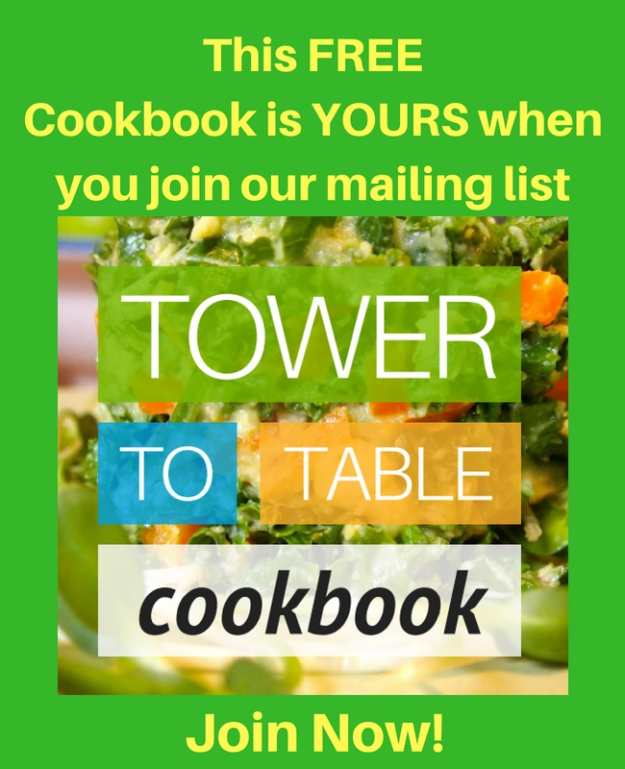 Tower Garden Cookbook